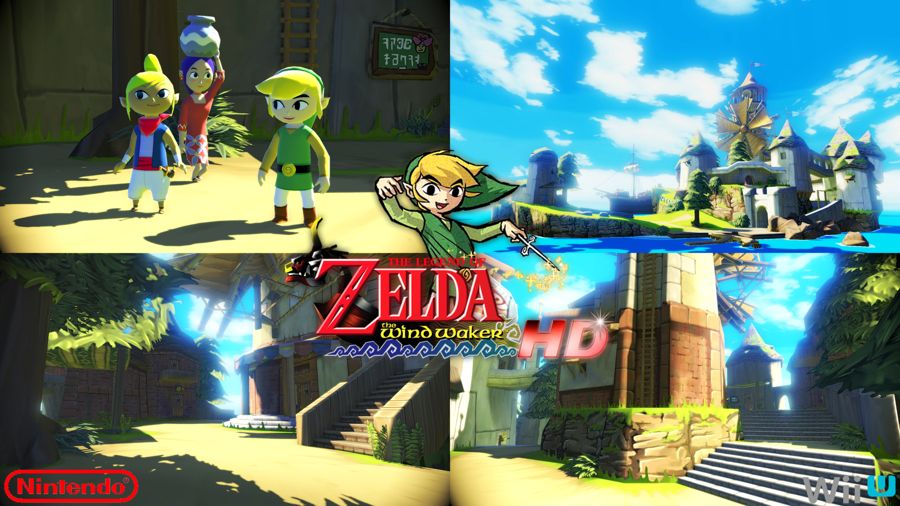 The Legend of Zelda The Wind Waker HD Wii U News