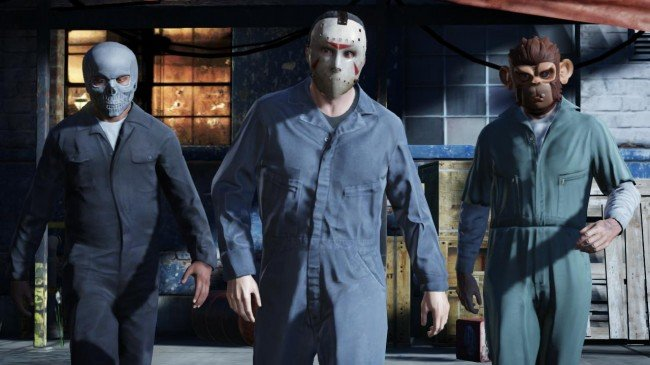 grand theft auto 5 masks