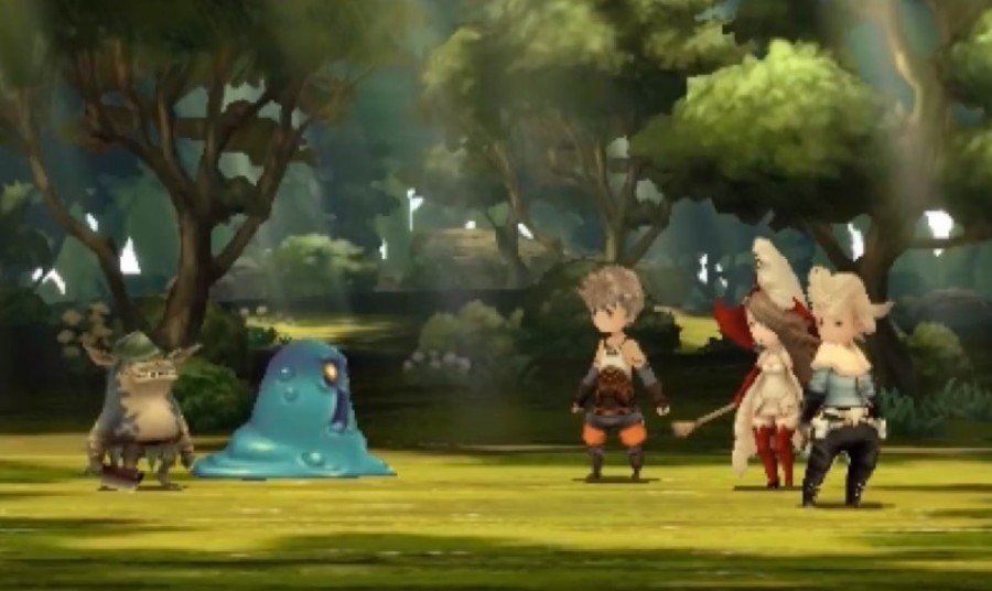 Combat in Bravely Default