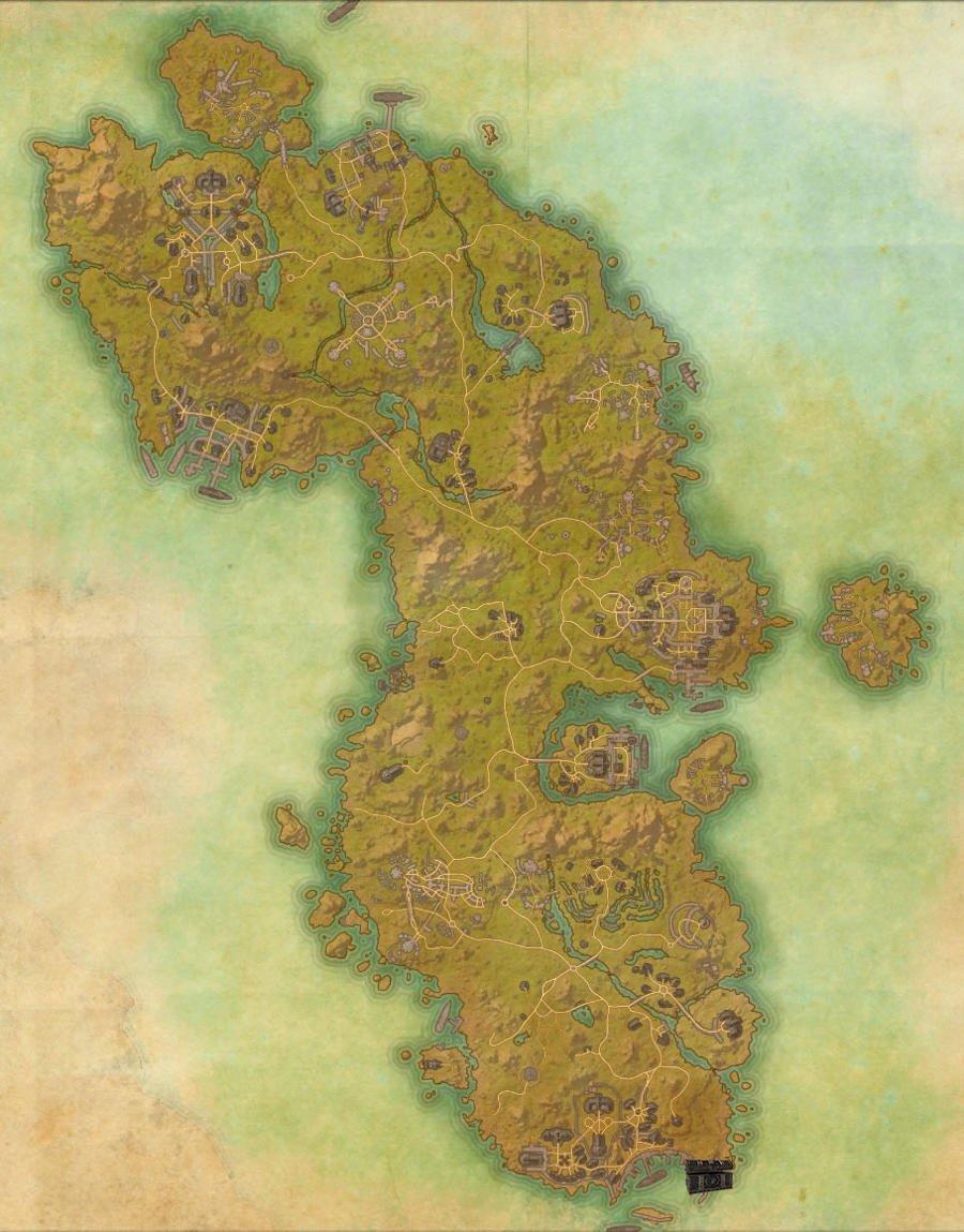 Auridon Treasure Map Guide