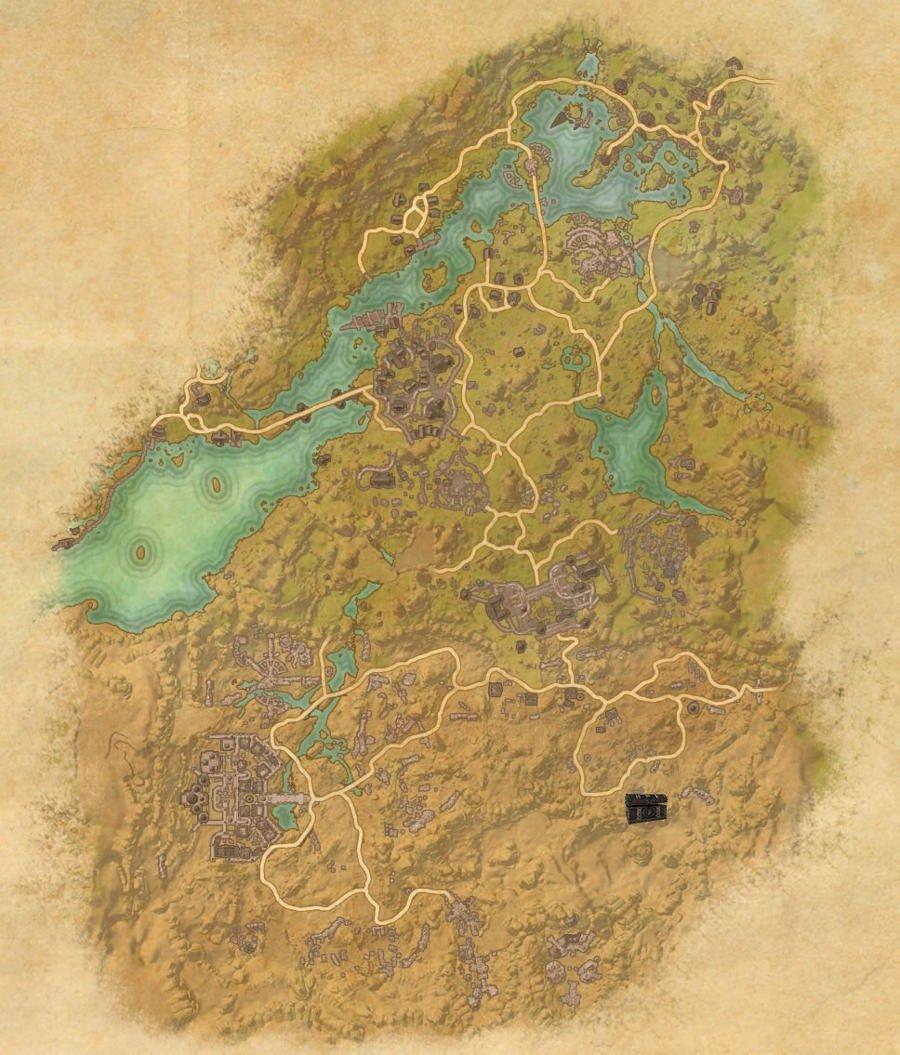 Bangkorai Treasure Map Guide
