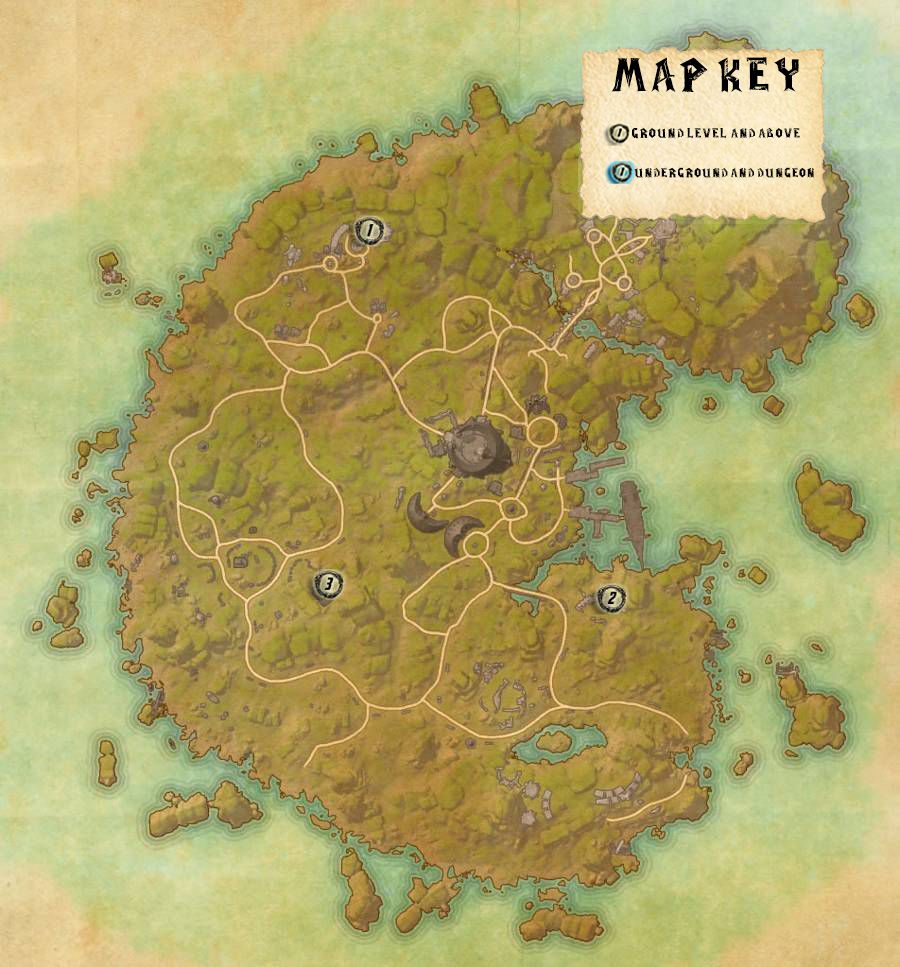 Betnikh Skyshards Locations Map Guide
