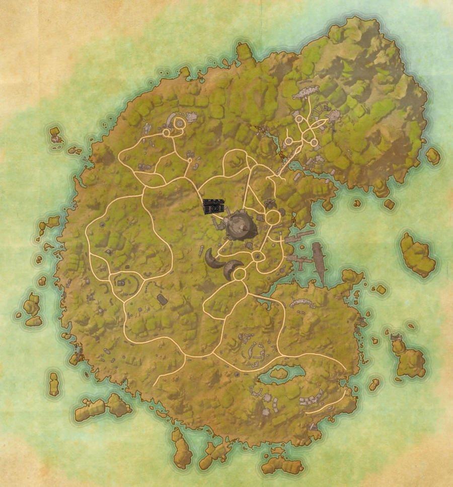 Betnikh Treasure Map Guide