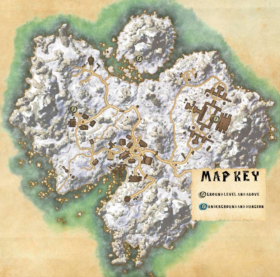 Bleakrock Isle Skyshards Locations Map Guide