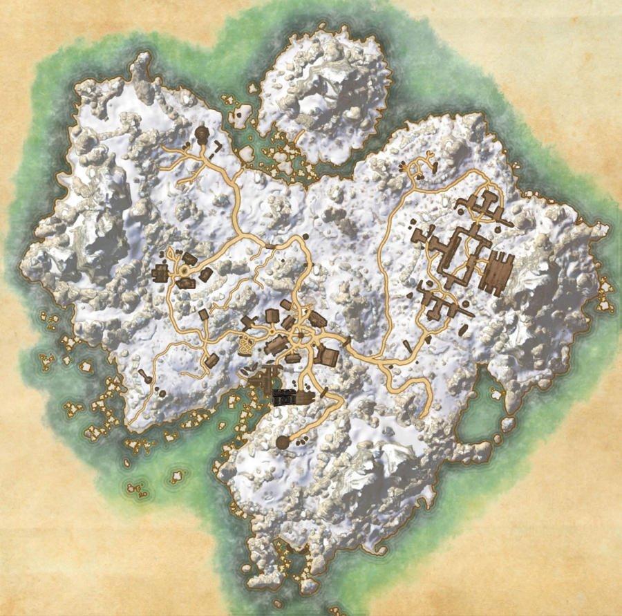 Bleakrock Isle Treasure Map Guide