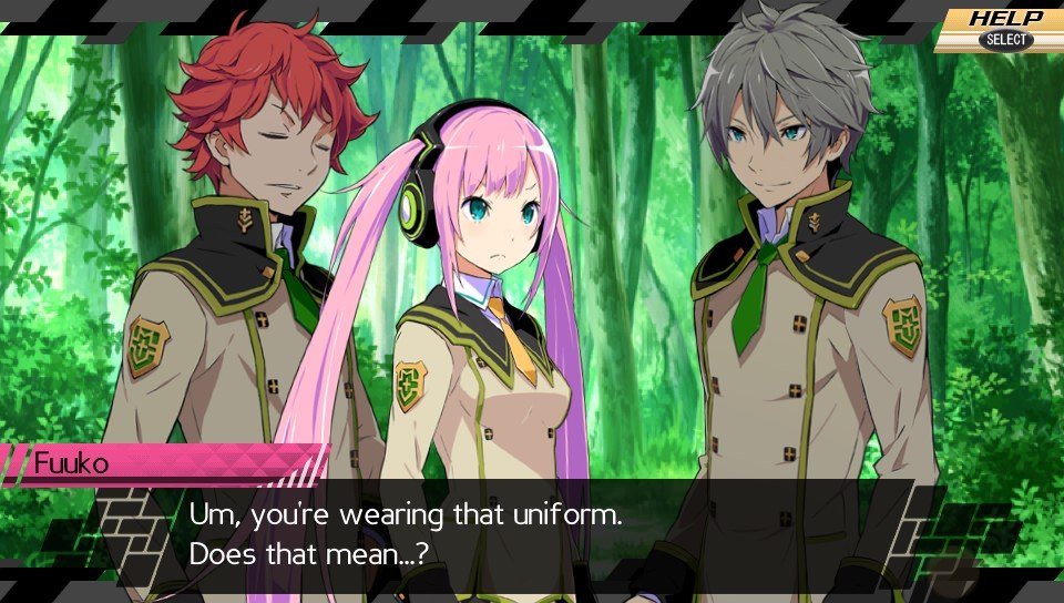 Conception II Game Play Screenshot