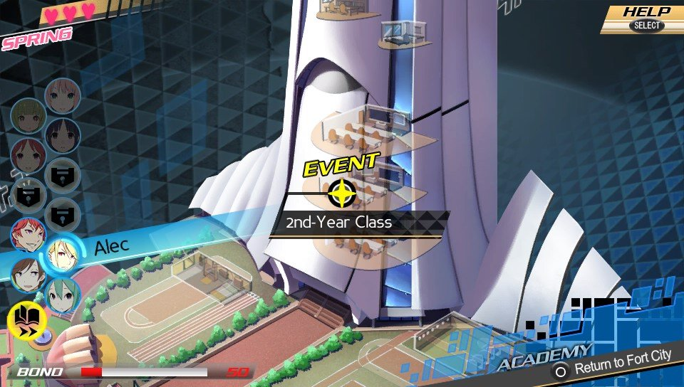 Conception II Game Play Screenshot