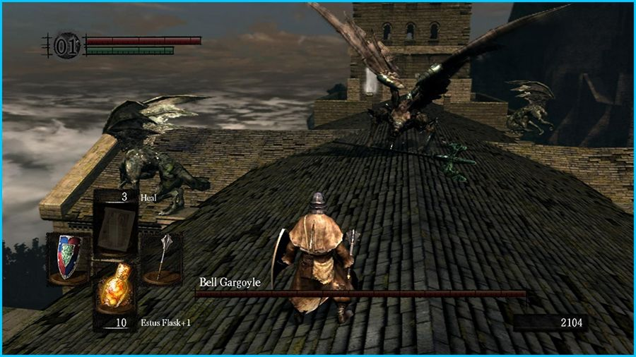 Dark Souls 2 2014 All Cutscenes Walkthrough Gameplay: Dark Souls Gameplay Screenshot 5