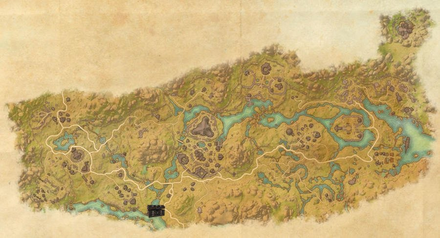 Dehsaan Treasure Map Guide