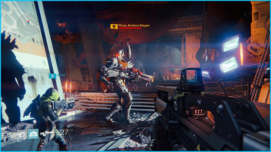 Destiny Gameplay Screenshot
