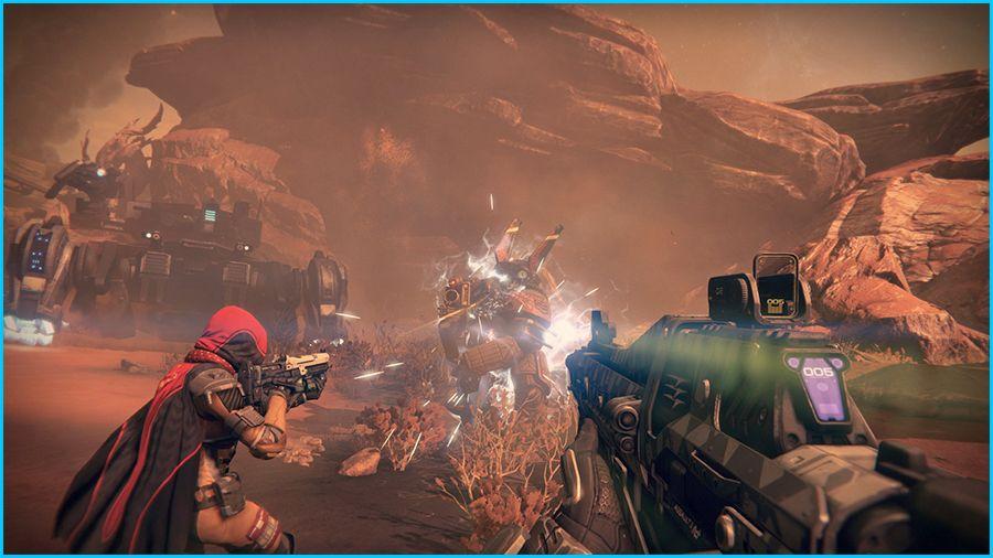 Destiny Gameplay Screenshot