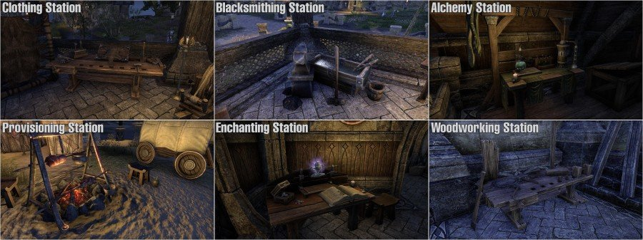 The Elder Scrolls Online Crafing Professions Guides