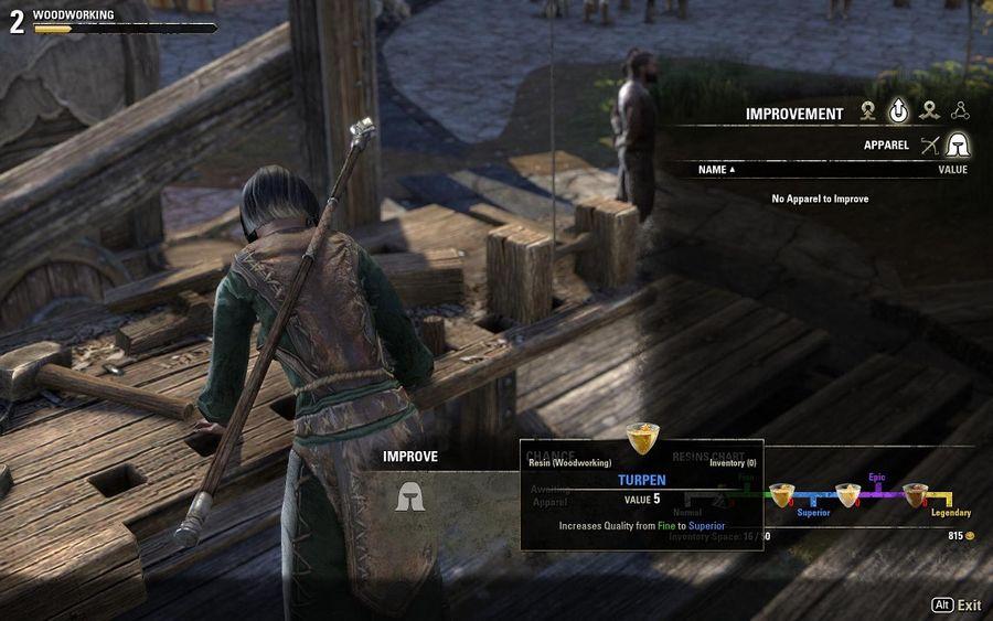 Elder Scrolls Online Hidden Crafting Stations