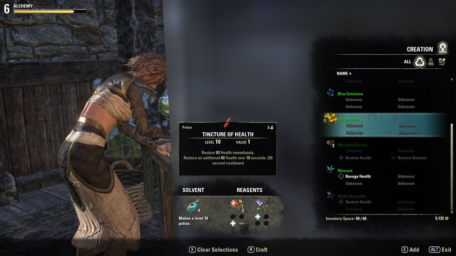 Elder Scrolls Online Where To Find Crafting Ingredients