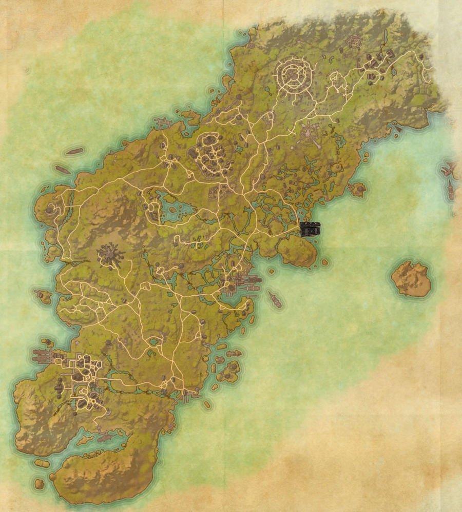 Glenumbra Treasure Map Guide