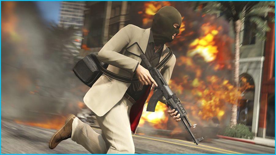 Grand Theft Auto Online Gameplay Screenshot