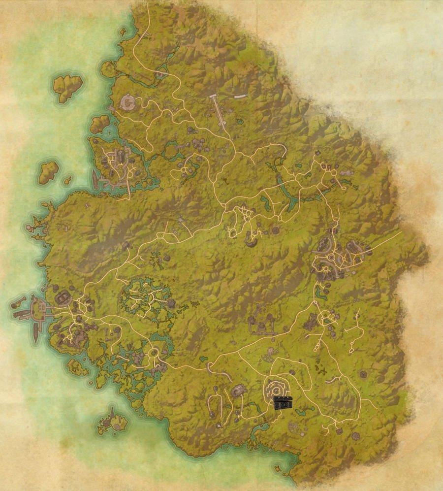 Greenshade Treasure Map Guide