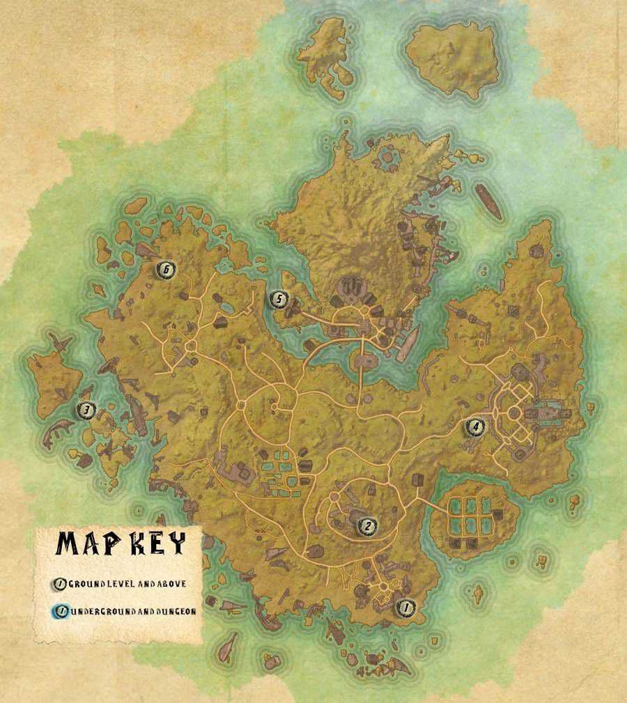 Khenarthi's Roost Skyshards Locations Map Guide