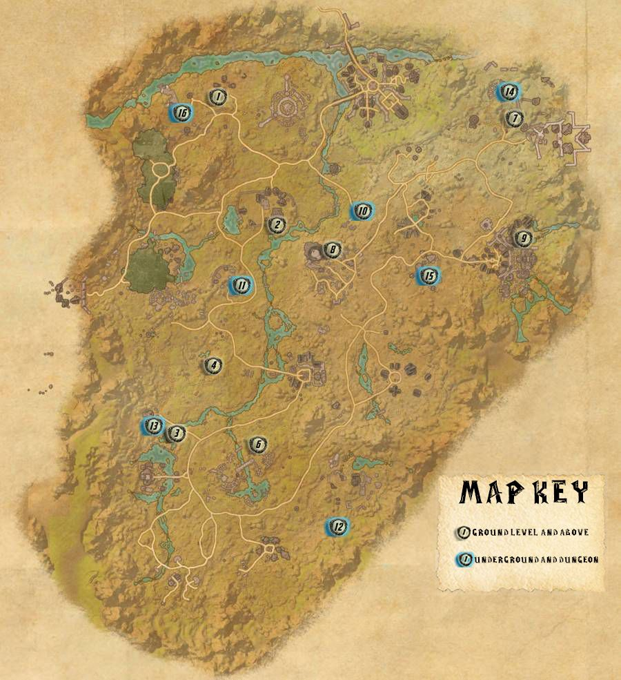 Reapers March Skyshards Locations Map Guide