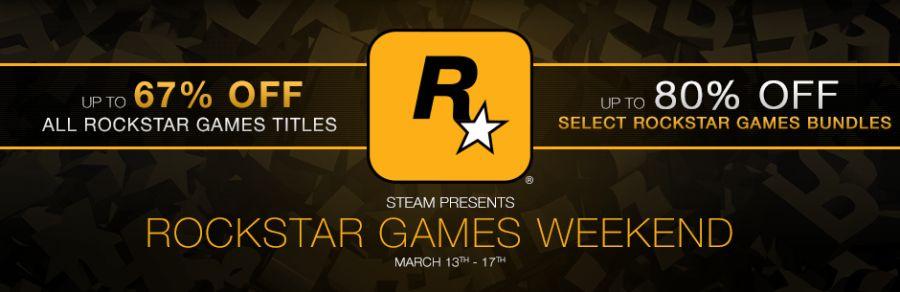 Rockstar Games Sale Weekend