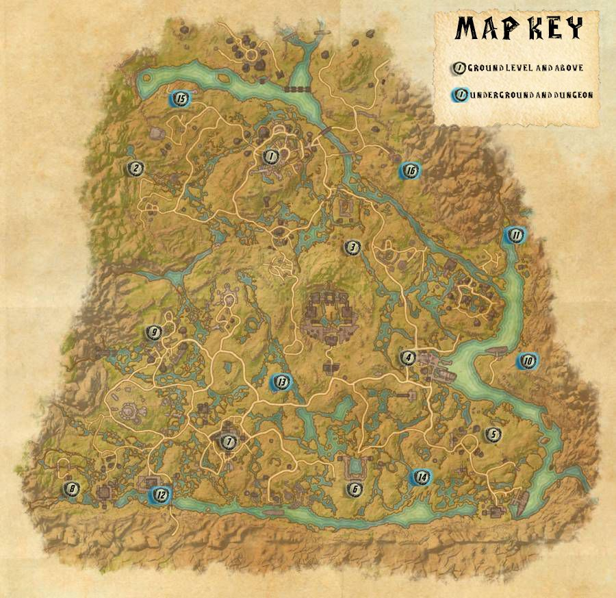 Shadowfen Skyshards Locations Map Guide