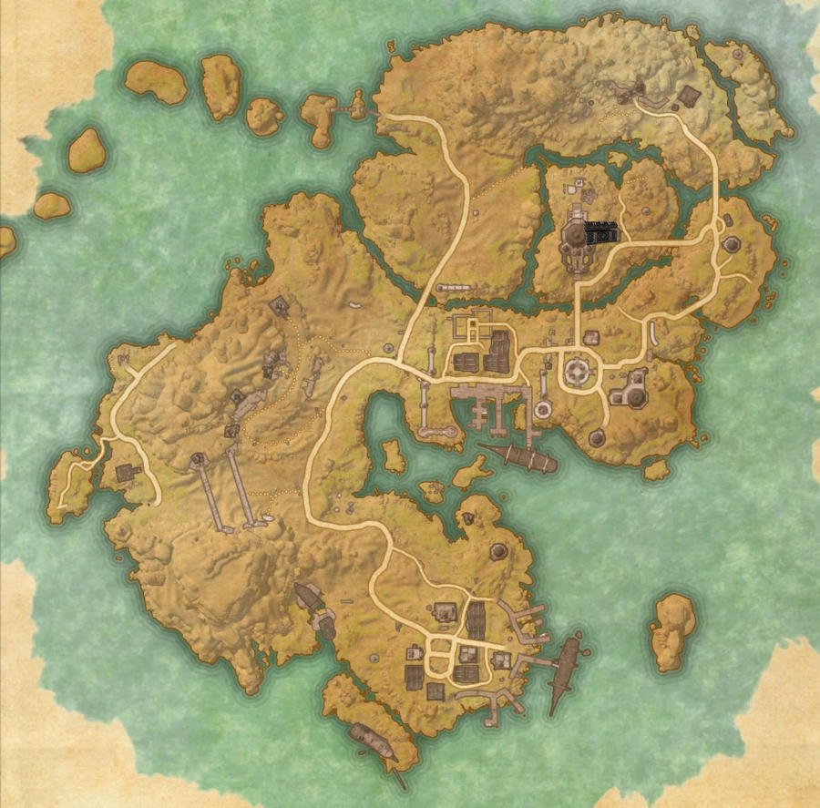 Stros M'Kai Treasure Map Guide