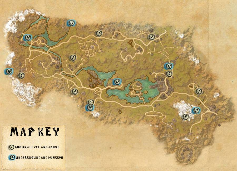 The Rift Skyshards Locations Map Guide