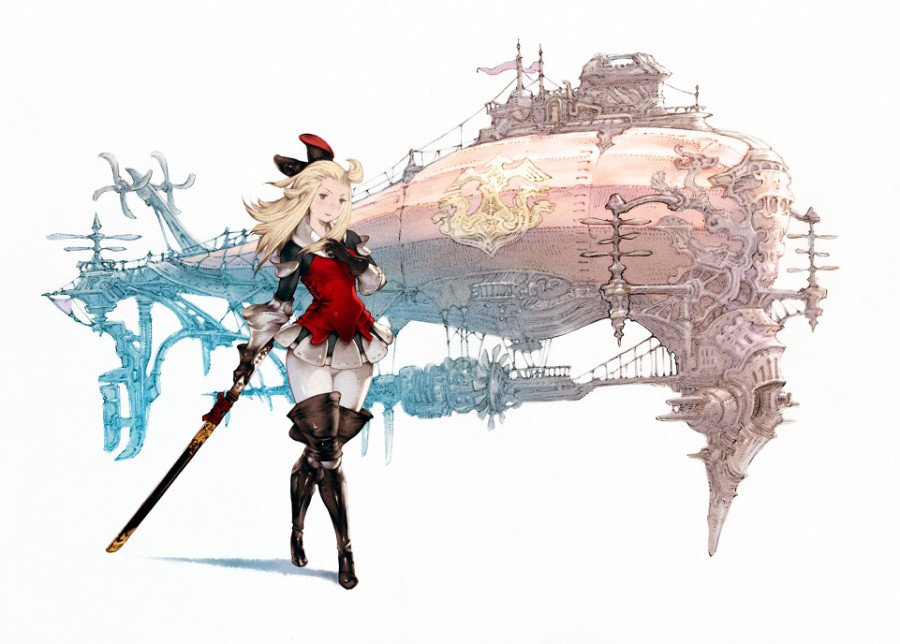 Airship from Bravely Default