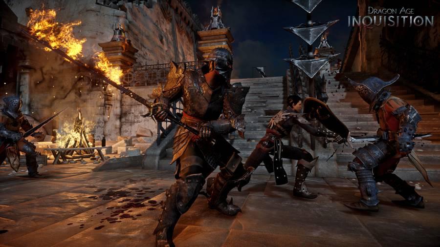 Drage Age Inquisition Combat