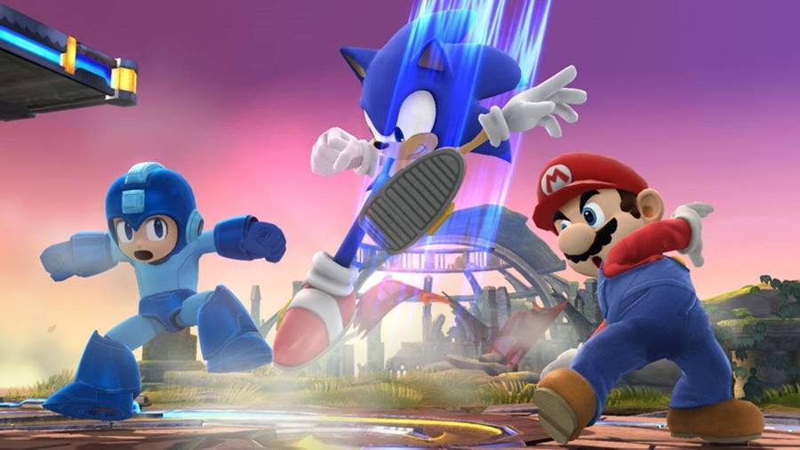 Sonic Megaman and Mario