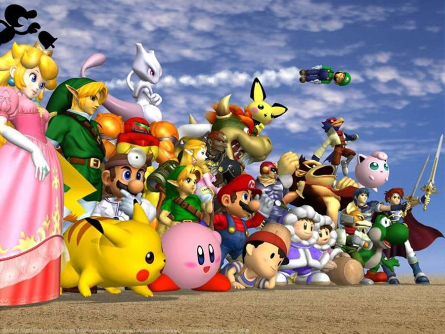 Super Smash Brothers Cast