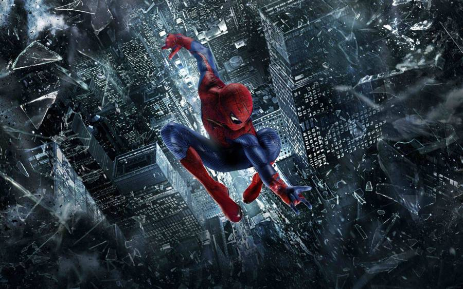 The amazing spider man 2 suits free roaming