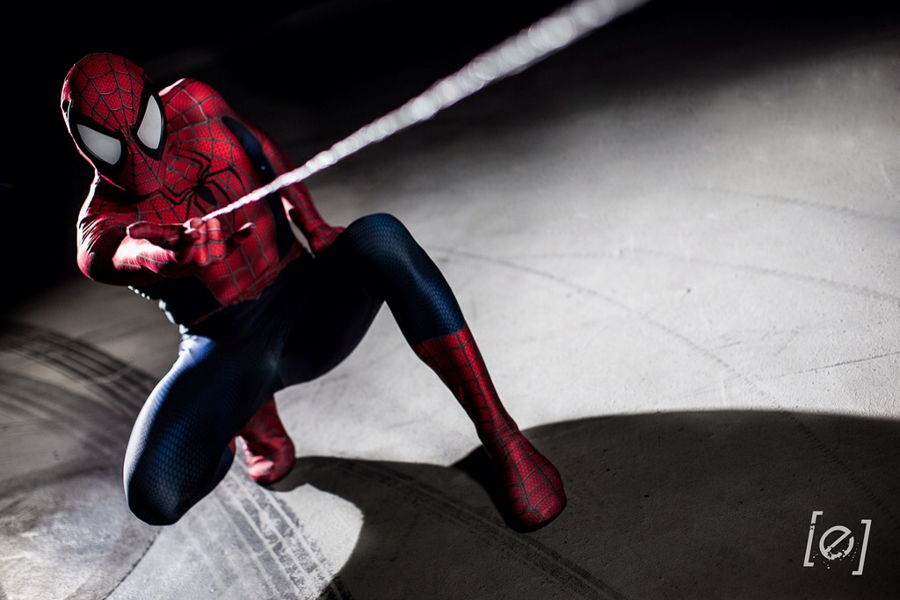Spiderman Cosplay - Gamers Heroes