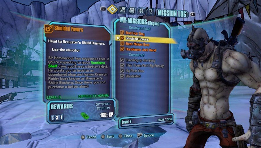 Borderlands 2 Vita Game Play Screenshot 1