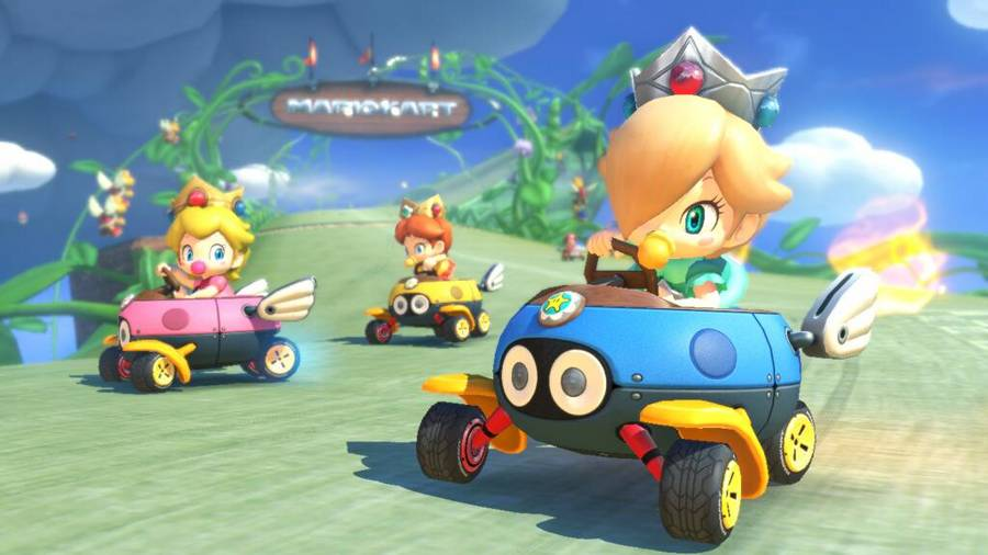 Mari Kart 8 New Items