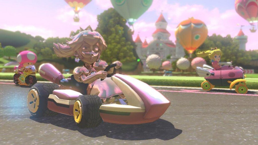 Mario Kart 8 Guide How To Unlock Gold Karts Wheels & Gold Parts