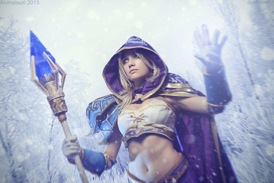 Warcraft III Jaina Proudmoore Narga Cosplay - Gamers Heroes