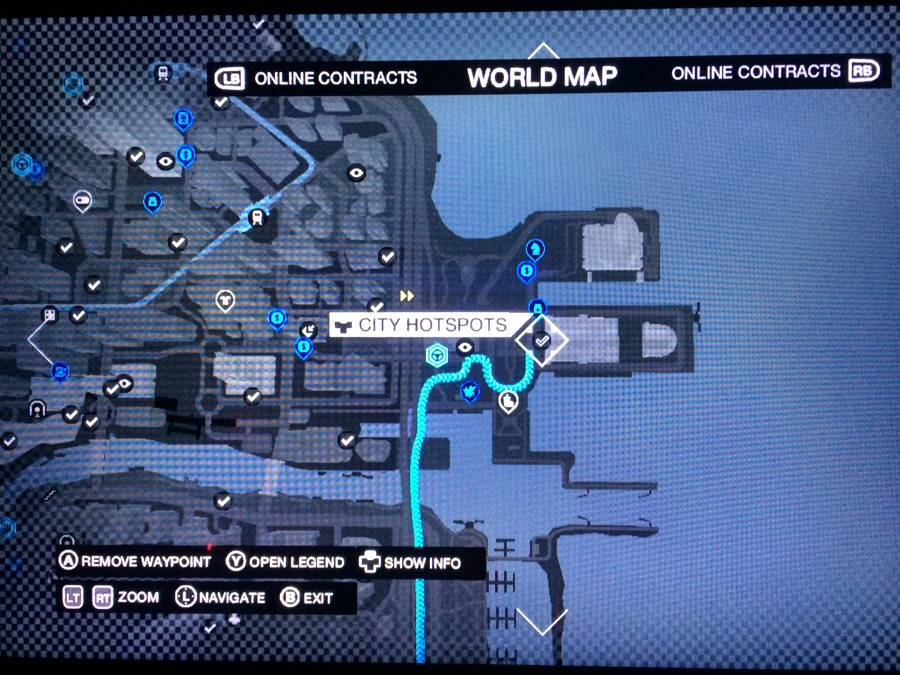 Watch Dogs Easy Unlocks Spot