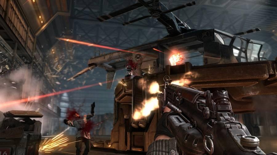 Wolfenstein The New Order AR Marksman