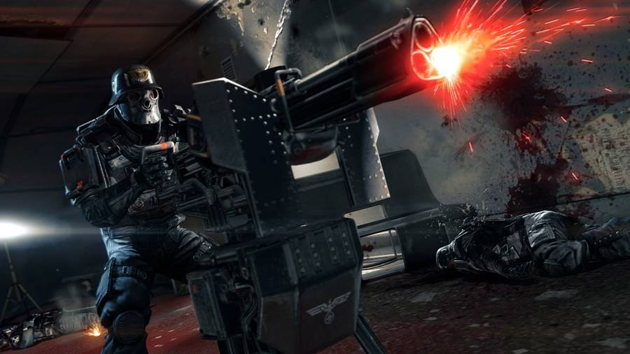 Wolfenstein The New Order Submachine Gun