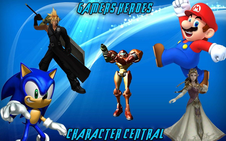 Gamers Heroes Character Central