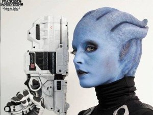 Cosplay Wednesday — Mass Effect's Asari