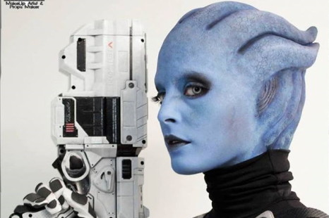 Cosplay Wednesday — Mass Effect's Asari