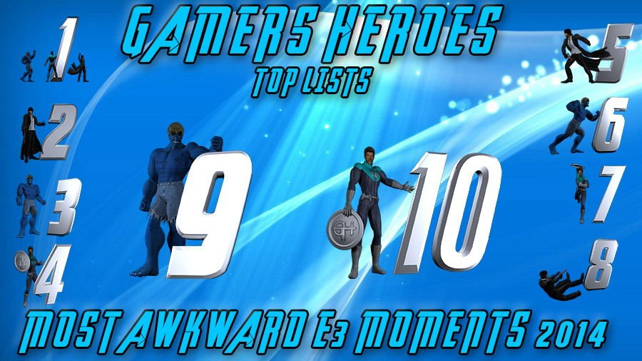 Most Awkward E3 Moments 2014