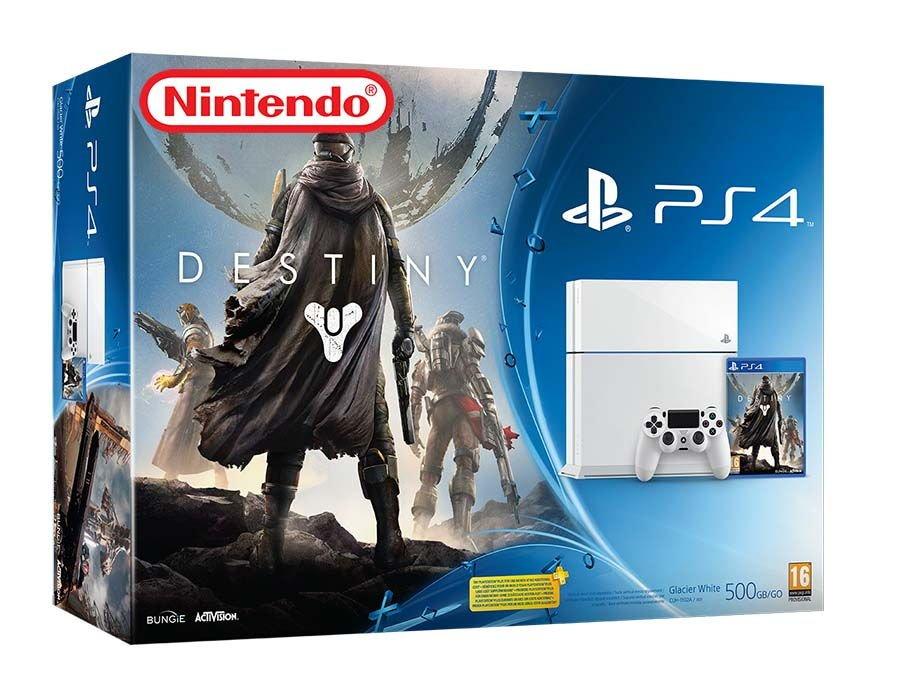 Nintendo Releasing White PlayStation 4