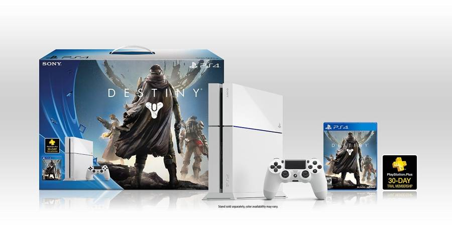 Ps4 Destiny Bundle Comes With White Ps4