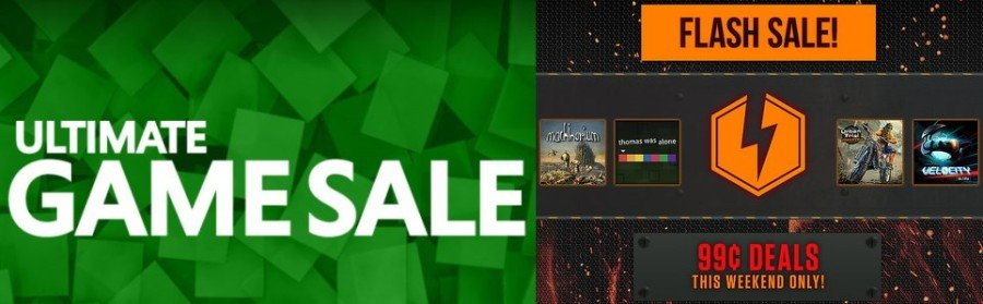 Sony Flash Sale vs Microsoft Ultimate Game Sale