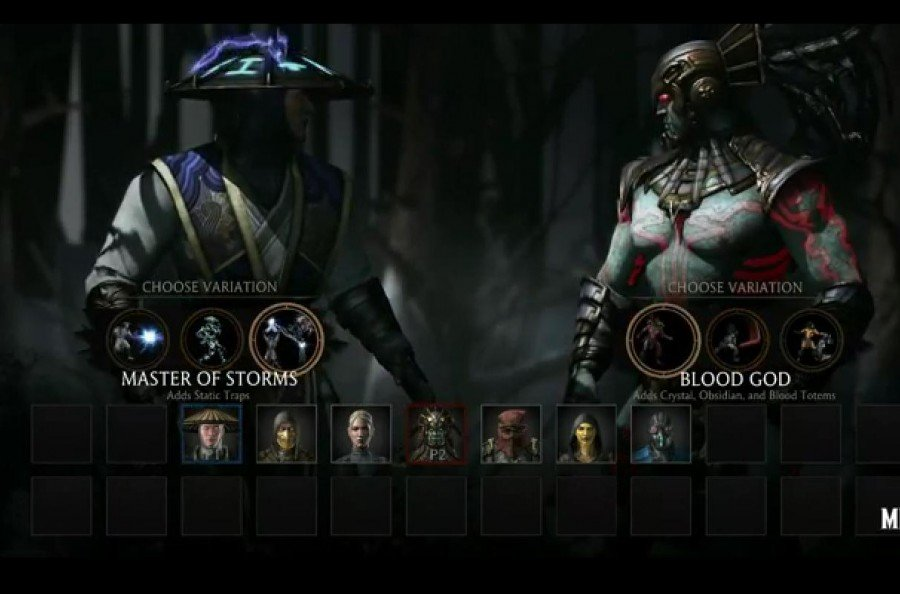MK X Roster