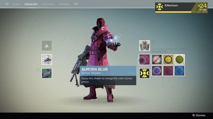 Destiny Aurora Blur Shader