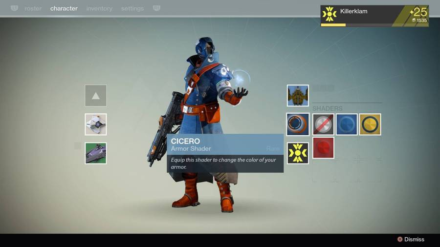 Destiny Cicero Shader